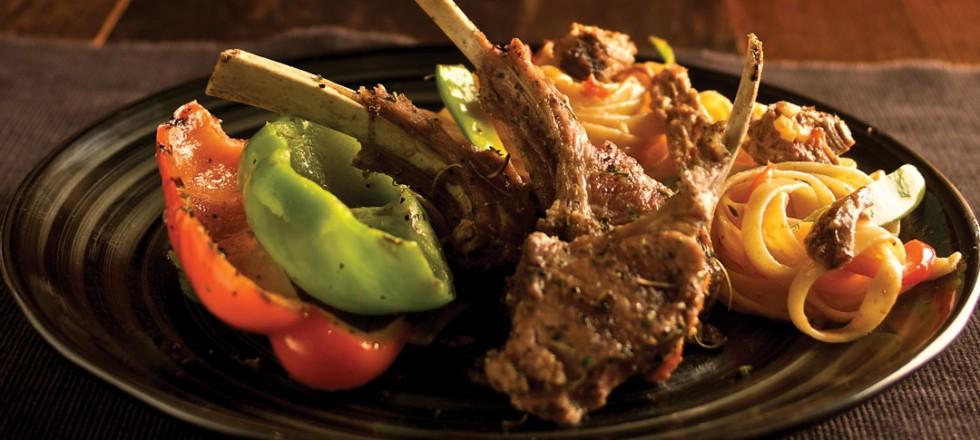 Agnello Con Pomodori Secchi by Chef/co-owner Greg Anania, Bellissimo