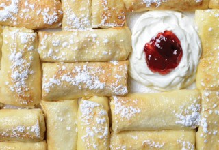 Cheese Blintz by Chef/co-owner Ami Hassan, Falafel Place