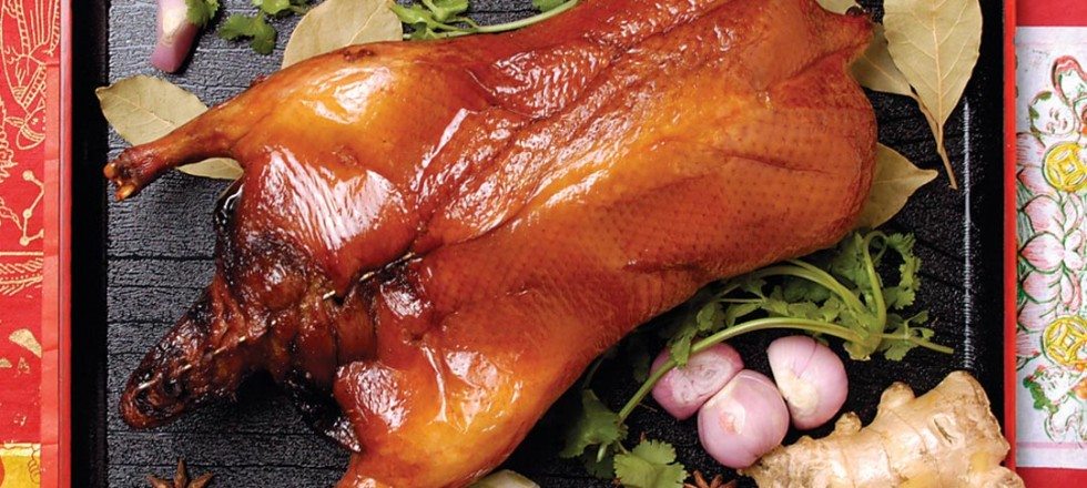 Barbeque Duck by Chef Hong Jian Zhu of North Garden Restaurant