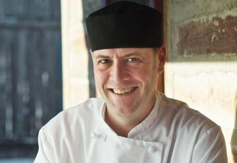 Chef Neil Higginson of Fort Gibraltar
