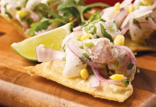Peru Meets Lake Winnipeg Ceviche by Chef Michael Day of Hermanos