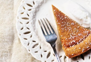 Maple Sugar Pie by Chef Neil Higginson of Fort Gibraltar