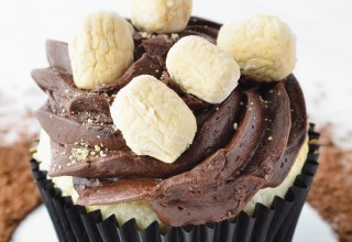 Smores-Cupcakes by Baker/owner Derrick Godfrey of The Cupcake Corner