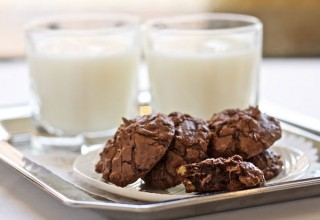 Glen's Chocolate Walnut Cookies by Pastry Chef Richard Warren, The Fort Gary Hotel