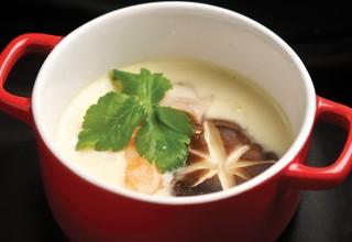 Chawan Mushi by Chef Masa Sugita of Yujiro Japanese Restaurant