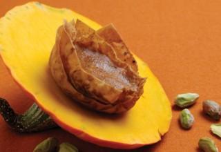 Pumpkin Pistachio Tarts