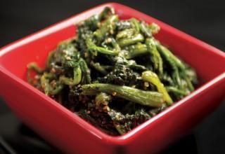 Spinach Goma Ae by Chef Masa Sugita of Yujiro Japanese Restaurant
