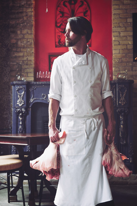 Chef Tristan Foucault of Peasant Cookery