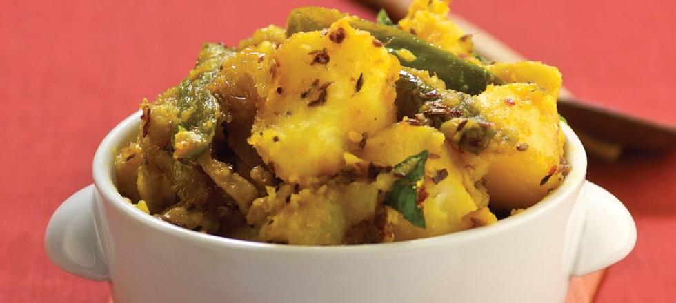 Badung Potatoes by Chef Peter Bastian of Taste of Sri Lanka