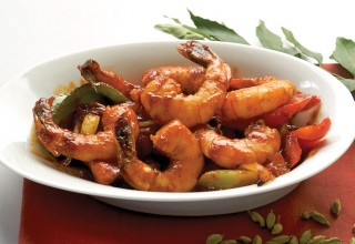 Devilled Shrimp by Chef Peter Bastian of Taste of Sri Lanka