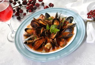 Mussels Marinara by Chef Michele Di Fonte of Monticchio