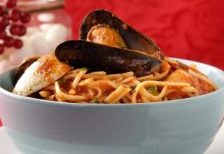 Pasta Pescatore by Chef Michele Di Fonte of Monticchio