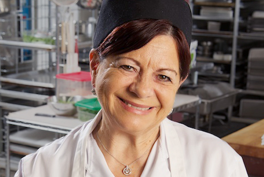Chef Anna Paganelli of De Luca's Cooking School