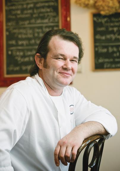 Chef Stéphane Wild of Bistro Chez Sophie