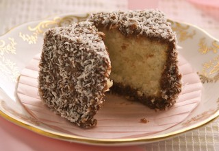 Lamingtons by Belinda and Carol Bigold of High Tea Bakery