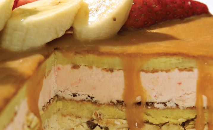 Banana Caramel Charlotte by Ignazio Scaletta of Goodies Bake Shop
