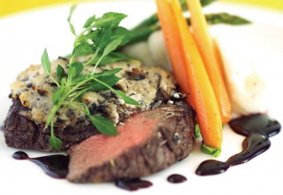Beef Tenderloin by Chef David Bergmann of Bergmann's on Lombard