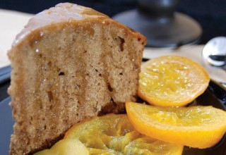 Honey-Cake, Orange-Confit by Chef Louise Briskie-deBeer of LuLu's Restaurant
