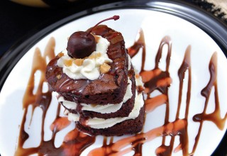 Nutty Chocolate Cherry Cake by Chef Lee Fry of The Billabong Bar and Bistro