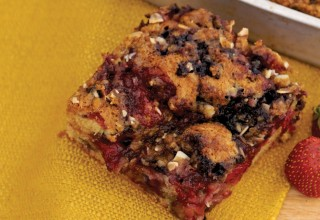 Summer Berry Coffee Cake by Owner/baker Tom Janzen of Bread & Circuses