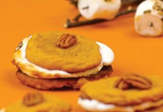 Sweet Potato & Pecan Cookie S'mores