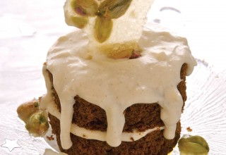 The Who's Hoegaarden® Gingerbread Layer Cake by Chef Roger Wilton of MTS Centre