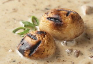 Wild Mushroom Soup by Executive Chef Jason Gower of Delta Winnipeg Hotel