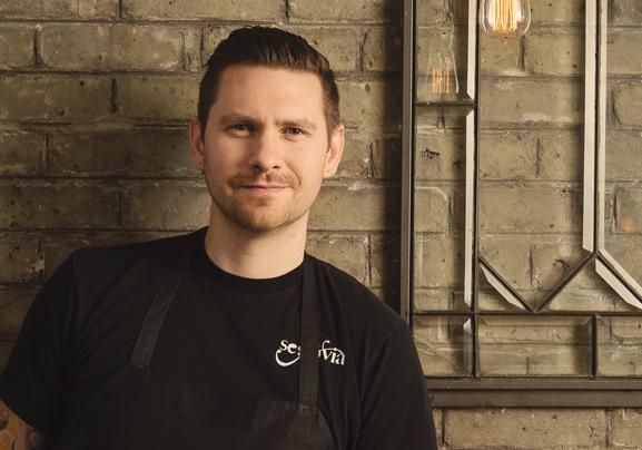 Chef Adam Donnelly of Segovia