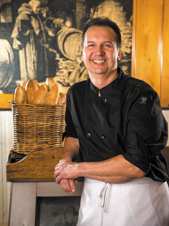 Chef Paul Vocadlo of Bistro Dansk