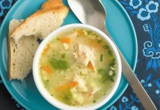 Chicken Vegetable Soup by Chef Paul Vocadlo of Bistro Dansk