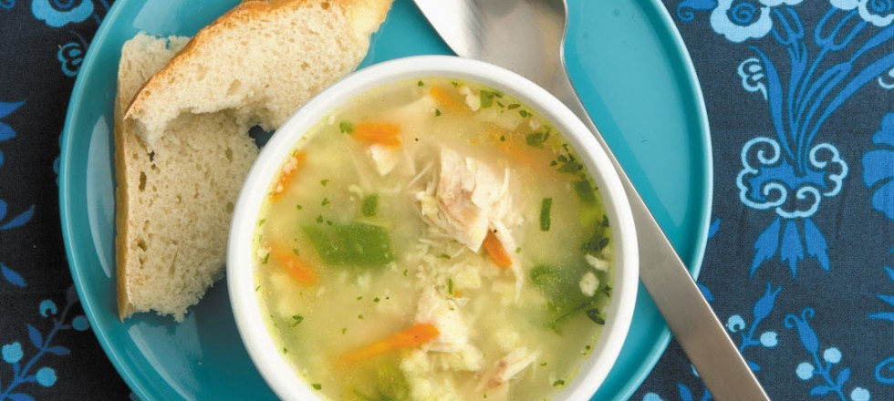 Chicken Vegetable Soup by Chef Paul Vocadlo of Bistro Dansk