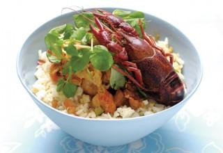 Crayfish Étouffée by Chef Karen Nielsen of La Vieille Gare
