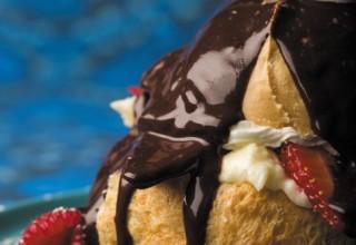 Cream Puffs by Chef Paul Vocadlo of Bistro Dansk