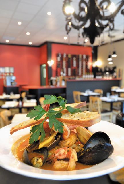 Savoury Seafood Stew at Tre Visi Café