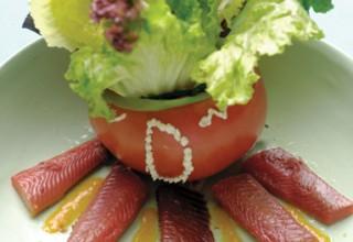 Smoked Manitoba Goldeye Salad by Chef Gojko Bodiroga of Restaurant Dubrovnik