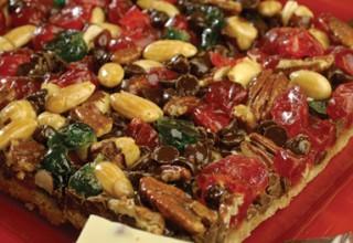 Cherry nut jewel bars by Head Baker Karen Penner of The Market 520