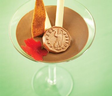chocolate rum mousse by Chef Helmut Mathae, Pastry instructor at Louis ...