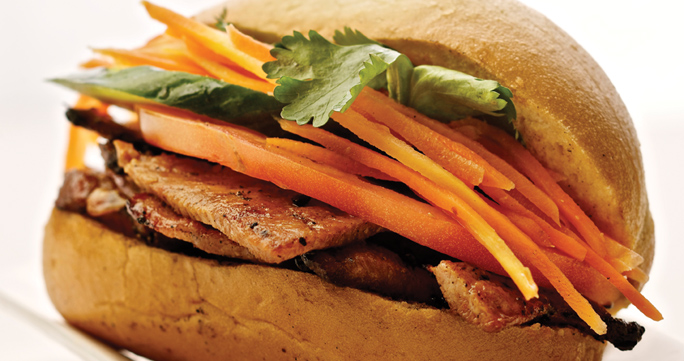 Banh Mi sandwich by Viva Vietnamese Restaurant
