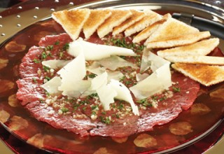 Beef Carpaccio by Executive Chef Michael Dacquisto of 529 Wellington