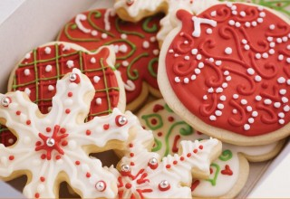 Classic Sugar Cookies by Co-owners Belinda and Carol Bigoldof High Tea Bakery