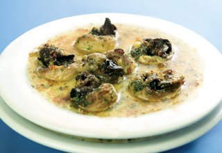 Escargots Bourguignonne by Chef Pierre Molin ofRed Lantern Restaurant