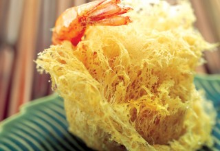 Flaky Shrimp Ball by Chef Ming Chen and Chef Geoffrey Young of Kum Koon Garden