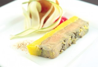 Foie Gras de Canard en Terrine by Chef Bernard Mirlycourtois of Brasserie Mirlycourtois