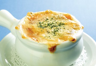 French Onion Soup by Chef Pierre Molin of Red Lantern Restaurant