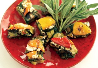 Grilled Vegetable Casserole by Chef Patrick Shrupka of Amici