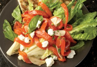 Roasted red pepper salad by Executive Chef Michael Dacquisto of 529 Wellington