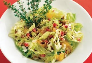 Pomegranate Salad by Chef Patrick Shrupka of Amici