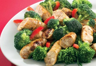 Chicken Sausages with Broccoli by Owner Tony De Luca of De Luca's Specialty Foods