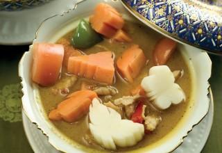 Yellow Curry by Chef Pradith Uksornpim by Sawatdee Thai