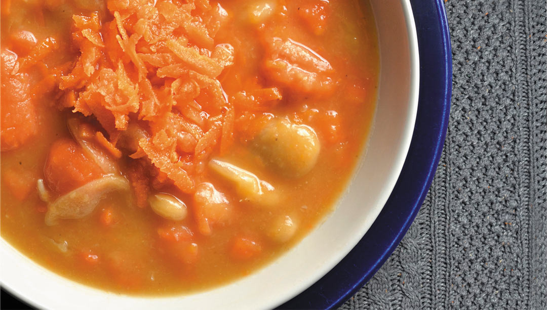 Carrot and Butter Bean Soup